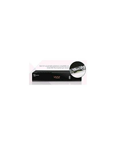 TELE System TS4502 S2 CI+ Decoder Digitale Satellitare CI+ HD H.265 - Videoregistratore e Mediaplayer, Nero