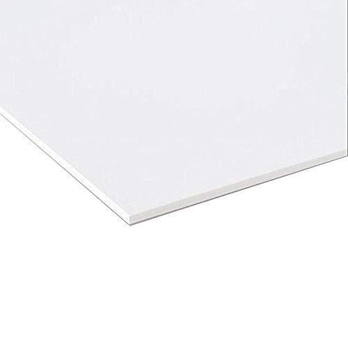Pannello Lastra Forex pvc bianco spessore 5 mm 50x70 cm bianco forex bianco pvc bianco