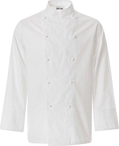 JOBLINE Giacca Cuoco Job col. Bianco TG. 3XL Cotone