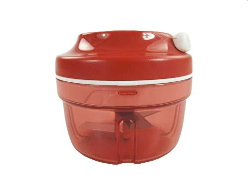 Tupperware affettacipolle Turbo-Chef, Colore Rosso, D158, P 20865, Rot, Ø 10,8 · H 9,5 cm, 24 Unità
