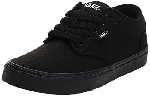 Vans Atwood, Sneaker Uomo, Nero Canvas/Black/Black, 39 EU