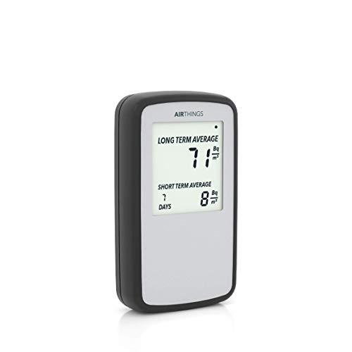 Airthings Corentium Home Radon Rivelatore di gas digitale - Versione internazionale in Bq/m