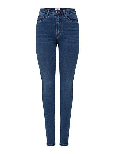 Only Onlroyal HW Skinny Jeans BB Bj13964 Noos, Blu (Dark Blue Denim Dark Blue Denim), 40 /L30 (Taglia Produttore: Large) Donna