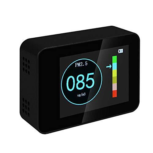 Rivelatore di qualità dell'aria Tester,Misuratore della qualità dell'aria portatile Air Quality detector per PM2.5 PM10 PM1.0