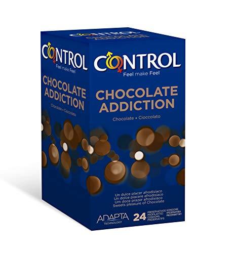 CONTROL Chocolate Profilattici al Cioccolato Standard - 24 pezzi
