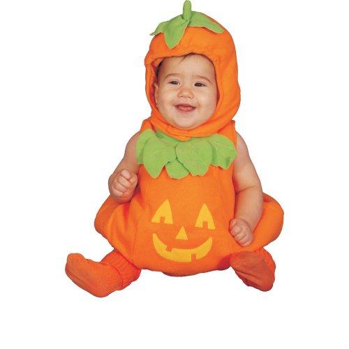 Dress Up America Carino Bambino Costume da zucca, Multicolore, 12-24 mesi (peso: 10-13,5 kg, altezza: 74-86 cm), 275-12-24