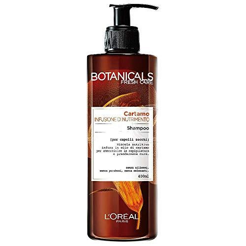 Botanicals Fresh Care al Cartamo per capelli secchi - Shampoo, Maschera, Pomata di Morbidezza (Shampoo 400ml)