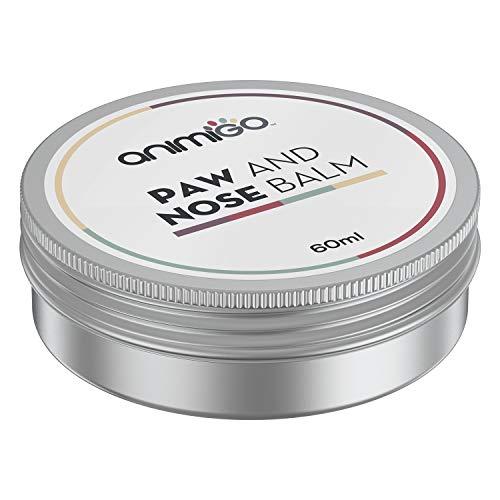 Animigo Crema Polpastrelli Cane e Gatto - Balsamo Idratante e Protettivo per Zampe e Naso - 100% Naturale