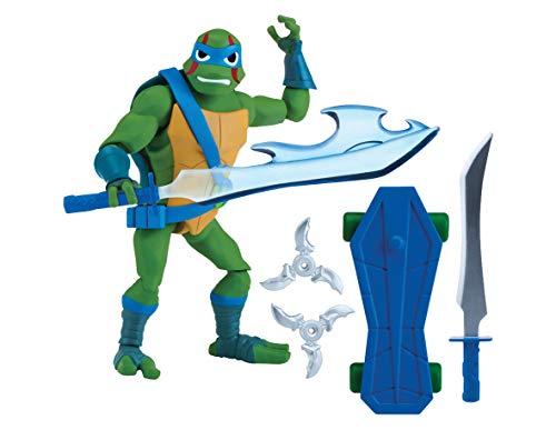 Giochi Preziosi Teenage Mutant Ninja, Turtles Rise Off, Personaggi Base, Leo The Cool Guy