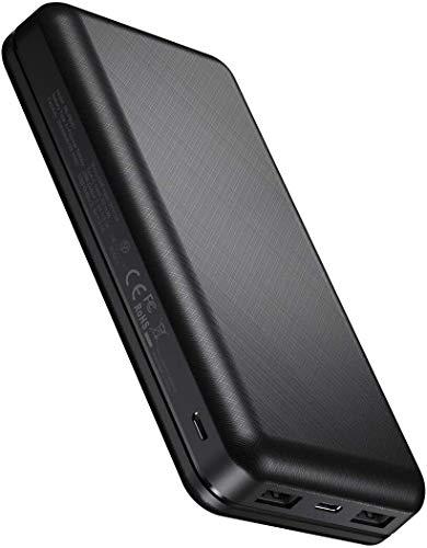 IEsafy Power Bank 26800mAh, Caricabatterie Portatile Ricarica ad Alta velocità con 2 Ingressi e 2 Uscite USB Caricatore Portatile per Cellulare, Tablet ECC