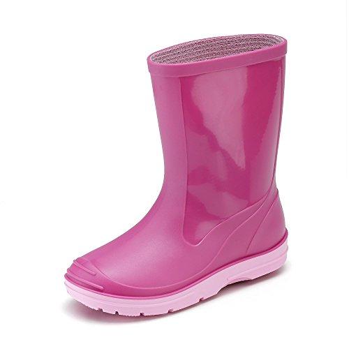 Beck - Basic, Stivali Pieghe infantile, Rosa (Pink (pink 06)), 24