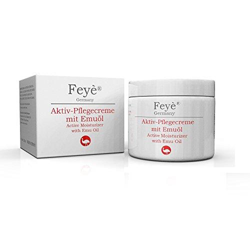 FEYȮ Creme, unguento – cure speciali contro le psoriasi, gli eczemi e le pelli molto secche – anche usato come assistenza acuta contro gli arrossamenti, i pruriti e le infiammazioni – con olio di emu