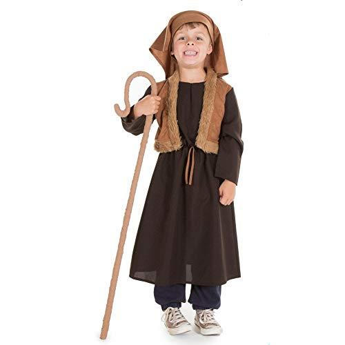Pretend to Bee TR - Costume da pastore 9344, età 3/5, unisex, per bambini, marrone, 3-5 anni, 9344__(3/5)__TR