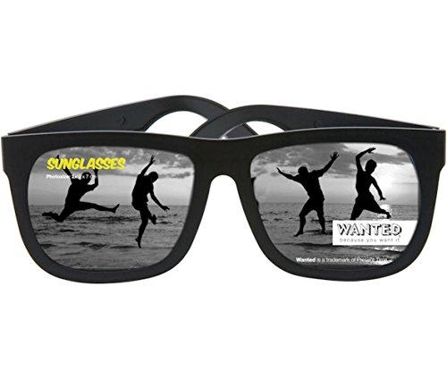 Cornice foto-Occhiali Sunglasses Holiday view in plastica, per 2 foto nero