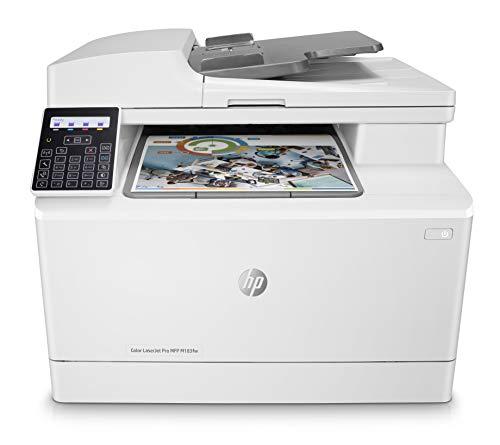Hp Color Laserjet Pro M183Fw Stampante Multifunzione Wi-Fi, Adf, Bianco