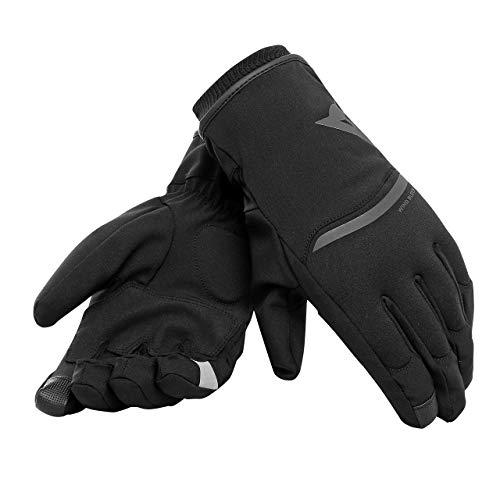Dainese Plaza 2 Unisex D-Dry Gloves Guanti Moto Invernali, Nero, L