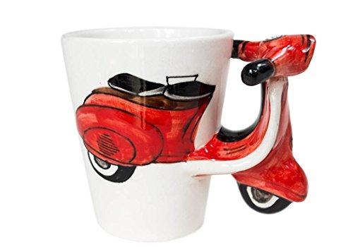 Regalo di Vespa, Kaffeetasse Fatto a mano da Life Arts