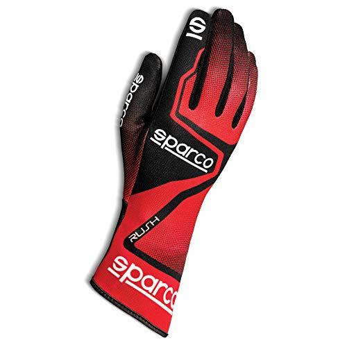 Sparco 00255608RSNR Rush 2020 Guanti Karting, Rosso/Nero, 8
