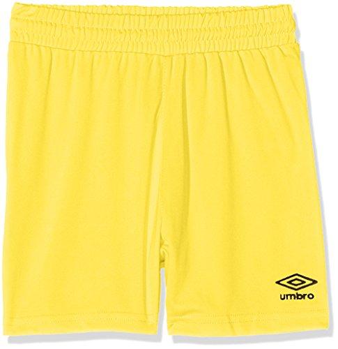 Umbro King Jnr Pantaloni da calcio Bambino, Giallo (Yellow 720), 110-122 cm
