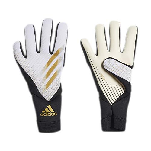 adidas X League Guanti da Portiere, White/Gold Mt/Black, 8 Uomo