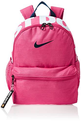Nike Brasilia Just Do It, Zaino Mini Bambino, Watermelon/Watermelon/Valerian Blue, MISC