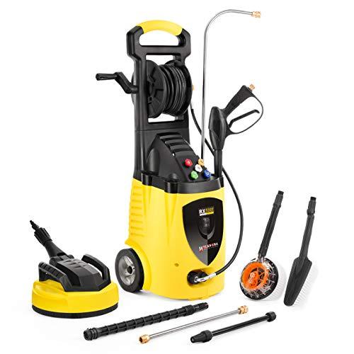 Wilks-USA RX550i Idropulitrice ad Alta Pressione Elettrica per Auto, Casa, Giardino- 262 Bar