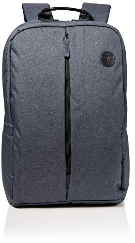 HP - PC Zaino 6 Essential per Notebook Fino a 15.6', Grigio/Interno Azzurro
