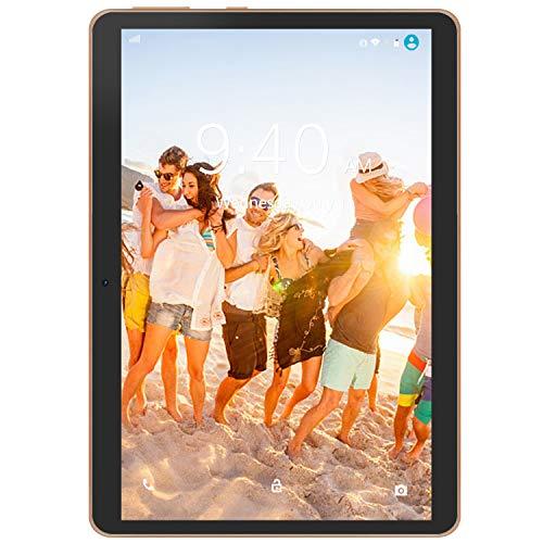 4G LTE Tablet con Display 10' YOTOPT Android 9.0 Tablet PC 64 GB Espandibili, 4 GB RAM, Type-c, GPS WIFI (Nero)