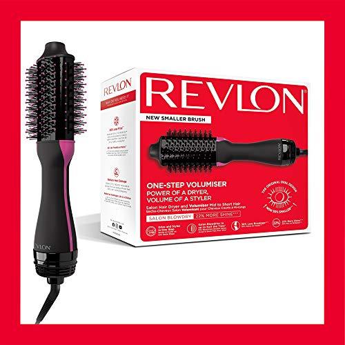 Revlon Asciugacapelli Volumizzante Revlon Salon One-Step per Capelli da Medi a Corti, Rvdr5282Uke, 990 g