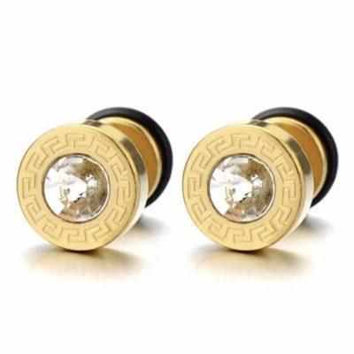 Offerte orecchini d'oro uomo