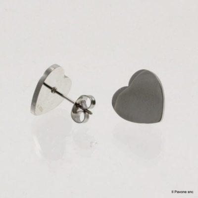 Offerte orecchini in acciaio