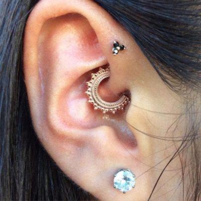 Offerte orecchini piercing all' orecchio