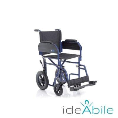 Sedia a rotelle pieghevole
