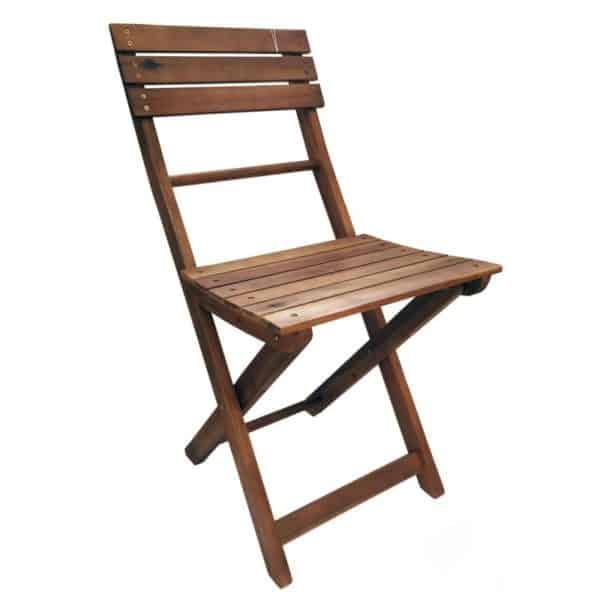 Sedia in legno pieghevole