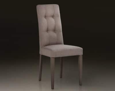 Sedia in tessuto
