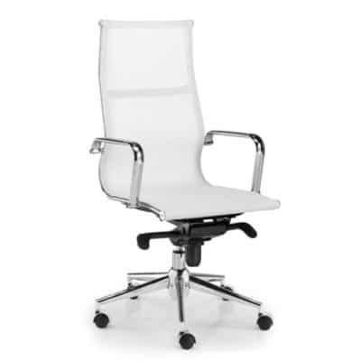 Sedia per ufficio bianca