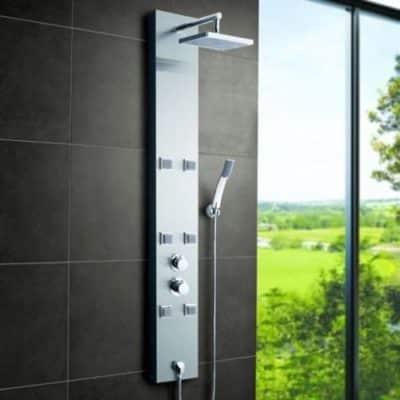 Migliori pannelli doccia termostatici: guida all' acquisto