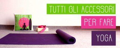 guida accessori per yoga