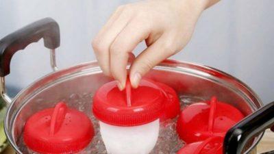 Bollitore per uova sode senza guscio