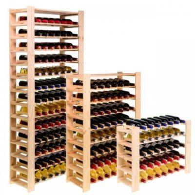 miglior cantinette vino portabottiglie in legno