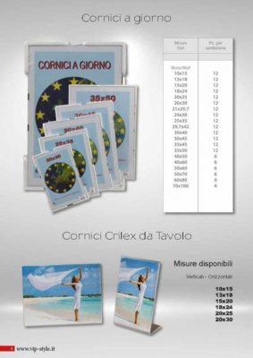offerta cornici crilex