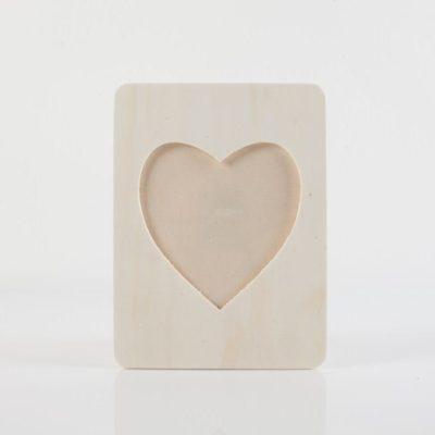 miglior cornici cuore legno