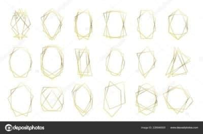prezzi cornici geometriche