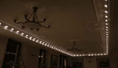 sconto cornici illuminate