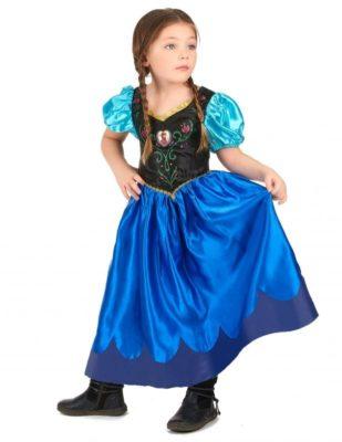 Perfetto costume anna frozen (bambina)