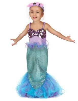 Offerta costume da Sirenetta (bambina)