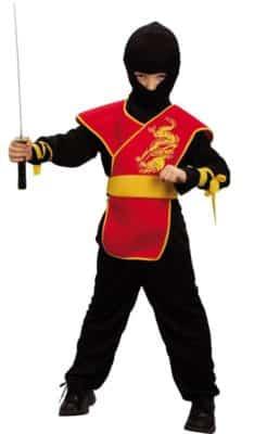 Ottimo costume da ninja (bambino)