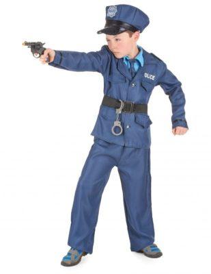 Ottimo costume da poliziotto (bambino)