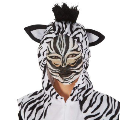 Perfetto costume da zebra