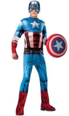 Ottimo costume di Capitan America (bambino)